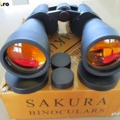 BINOCLU SAKURA 20 X 50 - SUPER CADOU ( VANATOARE, PESCUIT, AIRSOFT, BUSHCRAFT ) CU LENTILE TRATATE ANTIREFLEXIE - Binoclu vanatoare