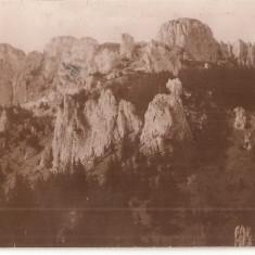CPI (B4783) BUSTENI. VEDERE DIN MUNTII BUCEGI, EDITURA I. PANDELESCU, IMPRIMERIA UNION, CIRCULATA, 15.AUG.1936, STAMPILA, TIMBRE - Carte Postala Muntenia dupa 1918, Fotografie