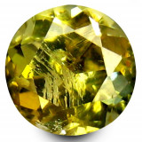 * Piatra naturala Tanzanit (Zoisit)  galben - netratat 1,07 ct - certificat