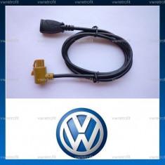 Cablaj pentru media USB INPUT pentru VW Golf 5, Golf 6, Jetta, Eos, Passat, Scirocco compatibil RCD 510 si RNS - Elemente montaj audio auto