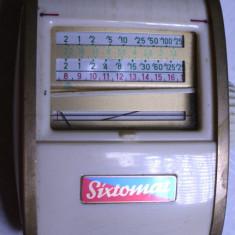 Exponometru Sixtomat aparat foto de colectie luxmetru vintage functional - Accesoriu foto