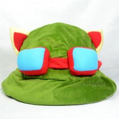 Teemo Hat / Palarie de Teemo - LEAGUE OF LEGENDS, Marime: Marime universala, Culoare: Verde
