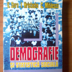 n4 Demografie si statistica sociala - V. Sora , I. Hristache. C. Mihaescu