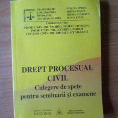 K2 Drept procesual civil-culegere de spete pentru semninarii si examene - Prof univ. dr. Viorel Mihai Ciobanu, Prof. Univ. Dr. Gabriel Boroi, etc - Carte Drept procesual civil