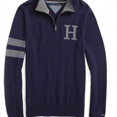 Pulover original Tommy Hilfiger - barbati M -100% AUTENTIC - Pulover barbati, Marime: M, Culoare: Din imagine