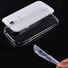 Husa Samsung Galaxy Trend S7560 S7580 TPU Ultra Thin 0.3mm Transparenta - Husa Telefon Samsung, Gel TPU, Fara snur, Carcasa
