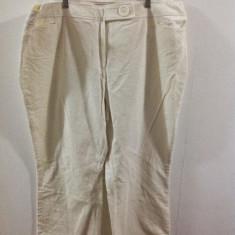 RAIATI NOI I.N.C. WOMAN-XXXL - Pantaloni XXXL, Culoare: Alb