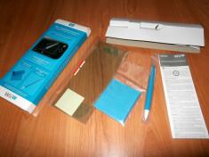 Set accesorii controler Nintendo Wii U , nou ( folie , laveta si stylus ) foto