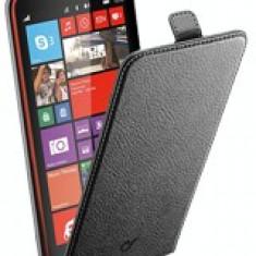 Toc flip negru nokia 1320 - Husa Telefon CellularLine, Piele Ecologica, Cu clapeta, Carcasa