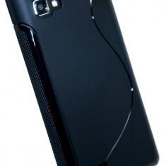 Husa LG Optimus 4X HD P880 TPU S-LINE Black - Husa Telefon LG, Negru, Gel TPU, Fara snur, Carcasa