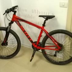 Scott Aspect 640 2013 M - Mountain Bike Scott, 16 inch, 26 inch, Numar viteze: 27, Aluminiu, Rosu