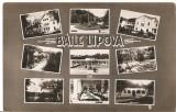 CPI (B4786) BAILE LIPOVA, MOZAIC, FOTO: STEINITZER, CIRCULATA, 17,MAI, 1937, STAMPILE, TIMBRU