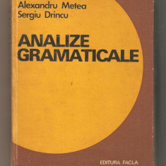 Analize Gramaticale - Certificare
