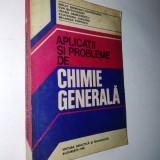 Aplicatii si probleme de chimie generala Autor: Nelly Demian (coordonator) Ed. didactica si pedagogica 1980, Alta editura