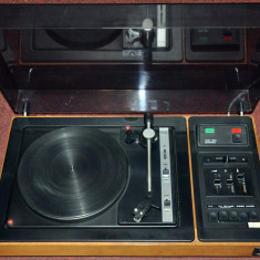 Pickup-Amplificator Tesla NZC 160 Stereo (2 x 15W, 4 Ohm) - 1985 - Pickup audio Tesla, 0-40 W