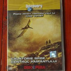 Film documentar Discovery - Calatorie spre centrul pamantului !!!, DVD, Altele