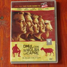 Film - Omul care se holba la capre ( n-ai capre n-ai glorie ) !!! - Film Colectie, DVD, Altele
