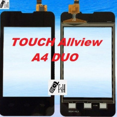 TOUCHSCREEN Geam Sticla Touch Screen Allview A4 DUO - Touchscreen telefon mobil, Allview A5 Smiley