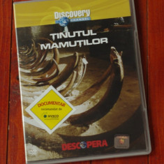 Film documentar Discovery - Tinutul mamutilor !!! - Film documentare, DVD, Altele