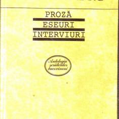 Vasile Andru - Proza,Eseuri,Interviuri, Alta editura