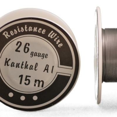 Kanthal A1 sârmă rezistențe diametru 0,4mm rolă 15m foto