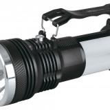 Lanterna cu acumulator si lampa reincarcabila la priza si panou solar sta aprinsa mai mult de 5 ore/ Lanterna solara