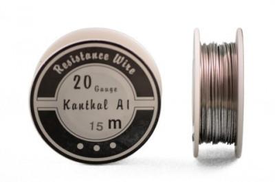 Kanthal A1 sârmă rezistențe diametru 0,8mm rolă 15m foto