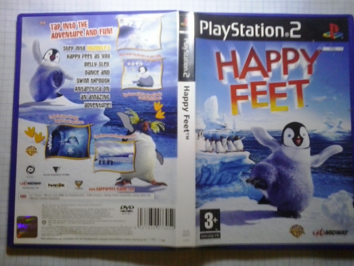 Happy Feet - JOC PS2 Playstation   ( GameLand - sute de jocuri ) foto mare
