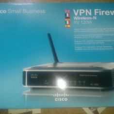 Router wireless CISCO RV120W firewall