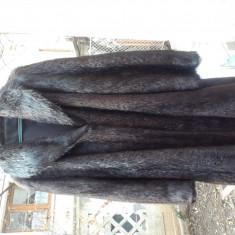SUPERBA haina blana nutrie- mas 46-48 - haina de blana