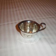 Cana lapte cafea din alpaca argintata