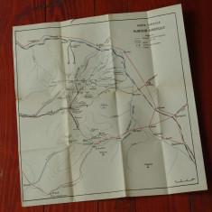 Harta Turistica - Muntii Gurghiu ( Gurghiului ) !!!