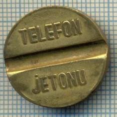 JETON 121 PENTRU COLECTIONARI - PTT(POSTA-TELEFON-TELEGRAF) - TELEFON -JETONU - TURCIA -STAREA CARE SE VEDE - Jetoane numismatica