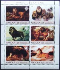 ANGOLA  2000 - LEI,  1 M/SH NEOBLITERATA, POSTA PRIVATA - PP 249 foto