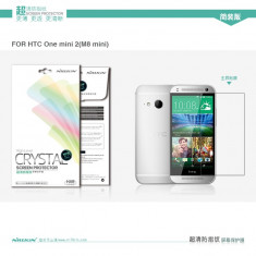 Folie HTC ONE M8 Mini 2 Transparenta by Nillkin - Folie de protectie HTC, Lucioasa