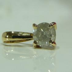 Pandativ aur 14k cu diamant 0,5ct