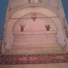 CP MANASTIREA PUTNA MORMINTUL LUI STEFAN CEL MARE NECIRCULATA - Carte Postala Moldova dupa 1918