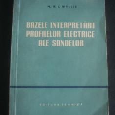 M. R. I. WYLLIE - BAZELE INTERPRETARII PROFILELOR ELECTRICE ALE SONDELOR