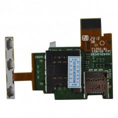 Banda Flex Slot Sim SI Cititor Card Sony Xperia J ST26 ST26i Originala