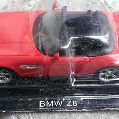 Macheta metal DeAgostini BMW Z8 NOUA, SIGILATA din colectia Automobile de Vis, Scara 1:43 + revista nr.17 - Macheta auto