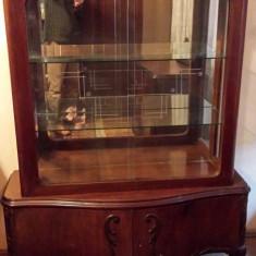 Mobila veche din lemn masiv stil chippendale, Sufragerii si mobilier salon, 1900 - 1949