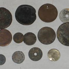 12 MONEDE ANTICE - Moneda Antica, An: 1800