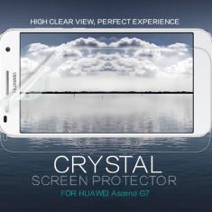 Folie HUAWEI Ascend G7 Transparenta by Nillkin - Folie de protectie Huawei, Lucioasa