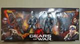 "NECA Gears of War 1 (Xbox 360/PC) Delta Squad Set 4 Action Figures 7"", Peste 12 ani"
