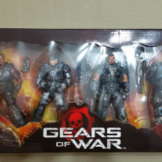 "NECA Gears of War 1 (Xbox 360/PC) Delta Squad Set 4 Action Figures 7"", Peste 12 ani"