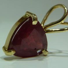 Pandativ aur 14k cu rubin