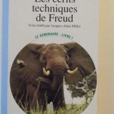 LES ECRITS TECHNIQUES DE FREUD de JACQUES LACAN, 1975 - Carte Psihologie