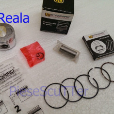 Kit Piston + Segmenti scuter Baotian / Bautian / First Byke / Bike / Kymco / Rex ( 44mm / Bolt 13 ) W Standard