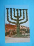 HOPCT14854  ISRAEL IERUSALIM -MAREA MENORA A KNESSETHULUI       [ NECIRCULATA]