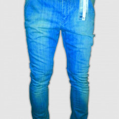 Blugi /Jeans Zara Lefties slim fit-skinny model - original 100%-cel mai mic pret - Blugi barbati, Marime: 34, 36, 38, 40, 42, 44, Culoare: Din imagine, Lasat